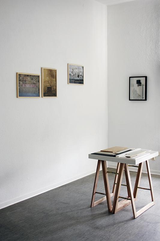 <p>Minttürkis (2014) Ausstellungsansicht</p>
