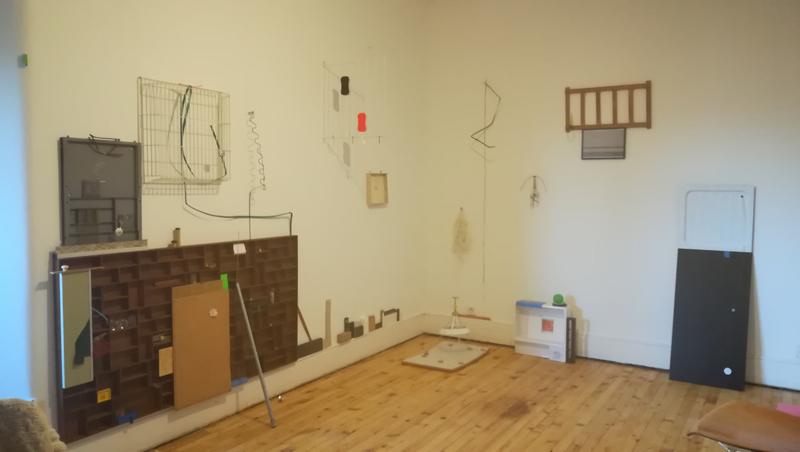 <p>Atelieransicht Anne Römpp</p>